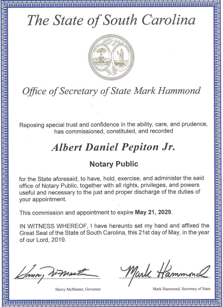 South-Carolina-Notary-Commission